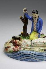 Stephen Bird's ceramic <i>Eliza Day.</i>