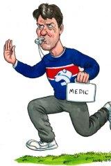 SMH- Sport. 26 May 2011. cartoon-Medic.
