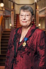 Honoured: Margaret Rodgers was made a member of the Order of Australia in January.