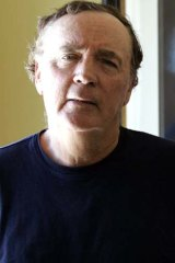Studious: James Patterson has an active imagination and keeps a folder full of ideas.