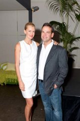 Moving a heir's bread closer ... Sarah and Lachlan Murdoch.