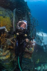 Dr Earle led the first-all female team of 'aquanauts' to live under water for two weeks in 1970.