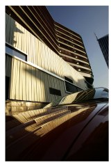 The QV2 apartment building by McBride Charles Ryan is considered an architectural hit..