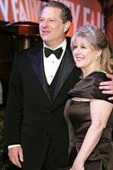 Al and Tipper Gore in 2007.