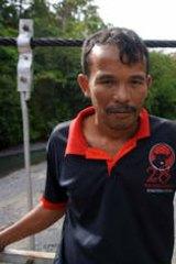 Ngalemi Sinuraya, leader in the village of Batukatak.