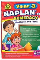 School Zone NAPLAN-Style Workbook: Year 3 Numeracy.