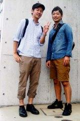 Takashi Hiura, left, 22, and Takuma Yoshida, 21, in Tokyo.