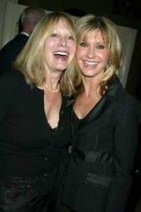 Sisterly love: Rona Newton-John, left, with Olivia in 2004.