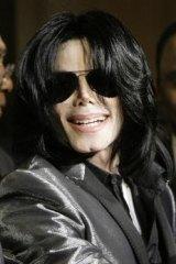 Michael Jackson at the RainbowPUSH Coalition awards dinner last November.