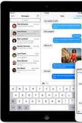 Glitch: iMessage in Apple iOS 7.