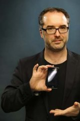 Comedian Justin Hamilton's personal phone app ties into the material in his show.