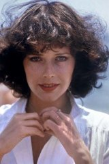 Movie star ...Sylvia Kristel, pictured in May 1975.