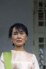 US President Barack Obama and Burma's pro-democracy leader Aung San Suu Kyi.