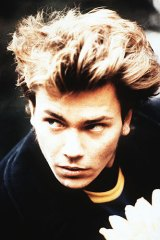 River Phoenix plays a young widower named Boy in his final film, <i>Dark Blood</i>.