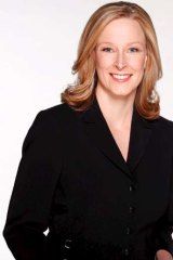 Leigh Sales: ignores the social media insults.