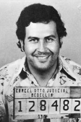 The late Pablo Escobar.
