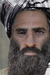 "An ""age-progressed"" photo created by the FBI gives a possible present-day likeness for Taliban leader Mullah Mohammad Omar."