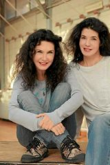 France's pianist duo, sisters Katia and Marielle Labeque.