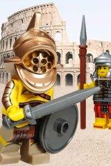 A Lego gladiator.