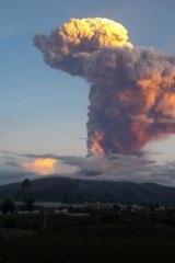 """Throat of fire"": Ecuador's Tungurahua volcano."