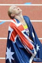 Glory days: Australia's Sally Pearson.