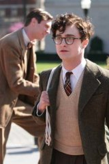 Radcliffe as Beat poet Allen Ginsberg in <i>Kill Your Darlings</i>.