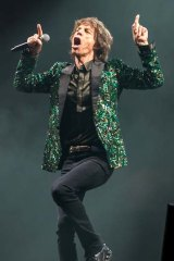 Costly: Mick Jagger of the Rolling Stones performing last year.