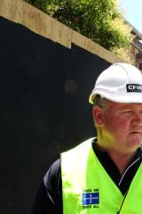 """You get confronted by these people from time to time"" ... Brian Parker, CFMEU."