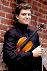 Canadian violinist James Ehnes.