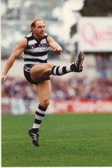 Geelong footballer Gary Ablett in 1994 .