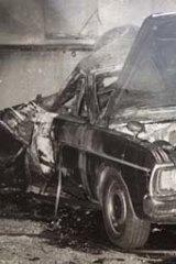 Bomb ... the 1971 Valiant.