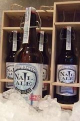 The record-breaking Antarctic Nail Ale.