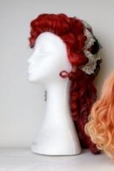 Wigs made by Jurga Celikiene.