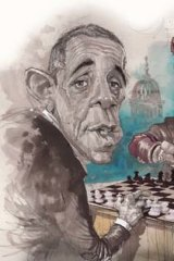 Stalemate ... The Tea Party have been relentless in their persecution of Obamacare. <i>Illustration: David Rowe</i>