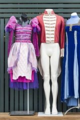 The Queensland Ballet is selling off costumes and scenery to create more storage space for future productions.