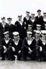 Some of the HMAS Sydney crew.