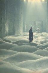 A scene from Andrei Tarkovsky's <i>Stalker</i> (1979).