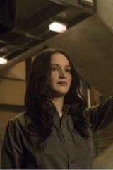 Jennifer Lawrence and Julianne in <i>The Hunger Games: Mockingjay - Part 1</i>.