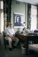 The write stuff ... Malouf at his Chippendale home in Sydney.