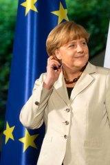 Criticised for imposing tough austerity measures: German Chancellor Angela Merkel.