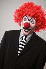 Bad for business: Scary clowns.