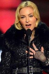 Star power:  Madonna.
