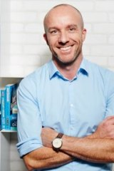 Hachette Australia chief executive Matthew Richell died at Tamarama on Wednesday.