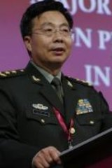 """Outcry: Deputy chief of staff of the Chinese Army Lieutenant-General Wang Guanzhong lashed the """"provocative challenge"""" from the US and Japan."""