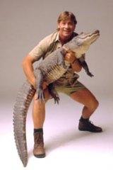 ''Crocodile Hunter'' Steve Irwin.