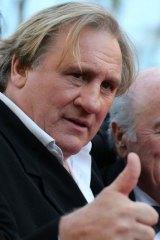 French actor Gerard Depardieu.