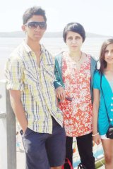 Jacintha Saldanha and her children.
