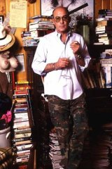 The ever-excessive Hunter S. Thompson.