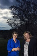 Mayor of Boroondara Coral Ross and Cr Tonia Dudzik of Moorabool Shire Council.