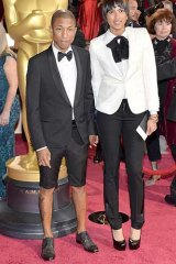 What did you think of Pharrell's tux shorts?
